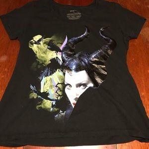Women's Maleficent Disney Store Swoop Neck TShirt